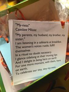my-ness poem